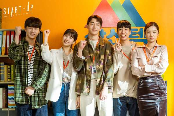 Kim Do-wan, Bae Suzy, Nam Joo-hyuk, Yoo Su-bin & Stephanie Lee as Team Samsan Tech