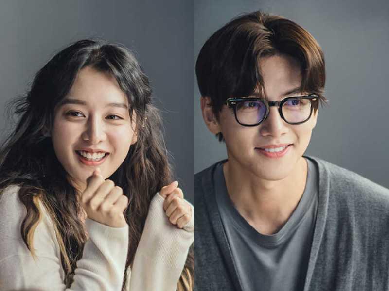 Kim Ji-won and Ji Chang-wook