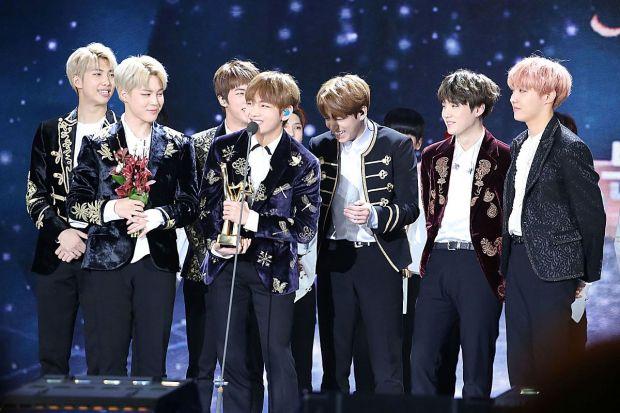 BTS Korean Boy Group
