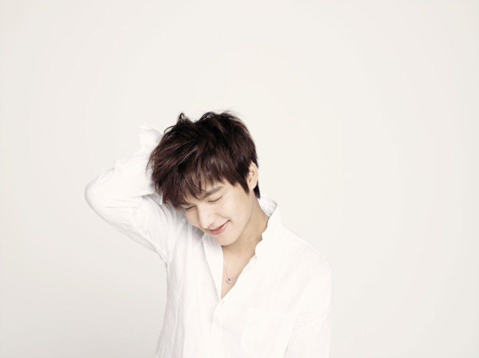 Korean actor Lee Min-ho