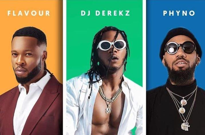 DJ Derekz Ft. Flavour & Phyno – By My Side