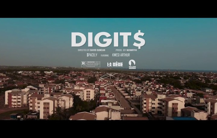 official video - Spacely ft kwesi arthur - Digits [remix]