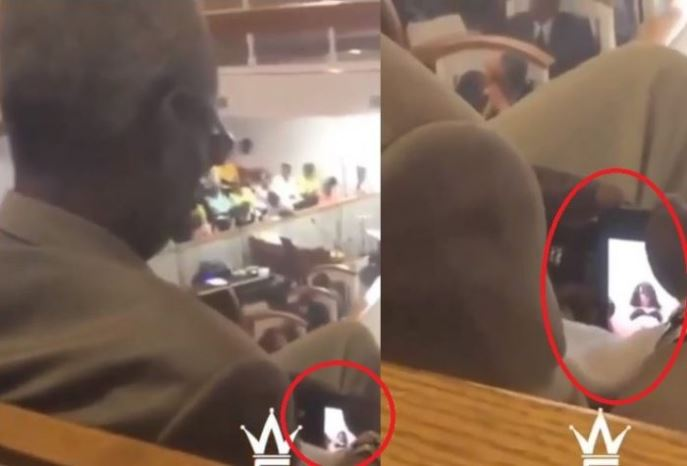 Man Caught Watching Porn video During Church Service
