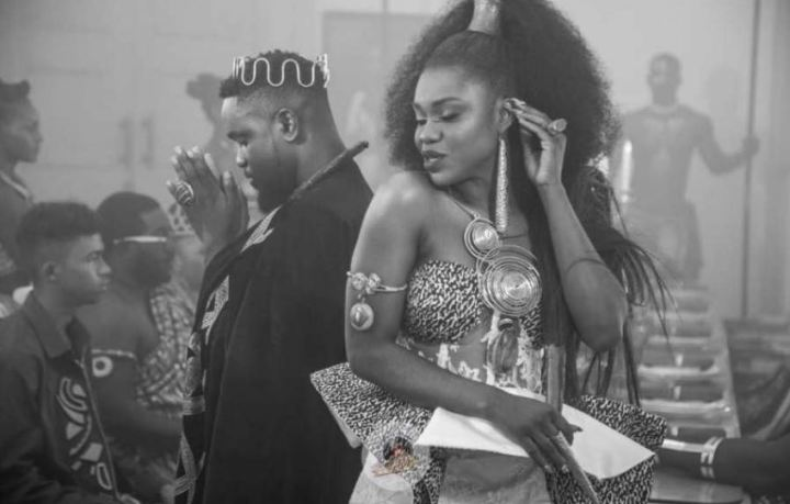 Becca x Sarkodie - Nana - exclusive - cover