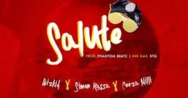Download MP3: Wizkid – Salute Ft. Ceeza Milli x Simon Kassa (Prod. by Phantom)