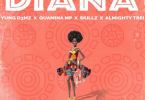 Download MP3: Young D3MZ – Diana Ft. Skillz x Quamina Mp x Almighty Trei