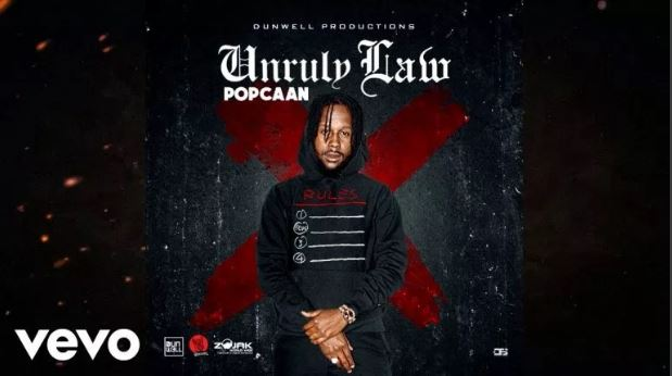 Download MP3: Popcaan – Unruly Law (Prod. By DunWell Production)