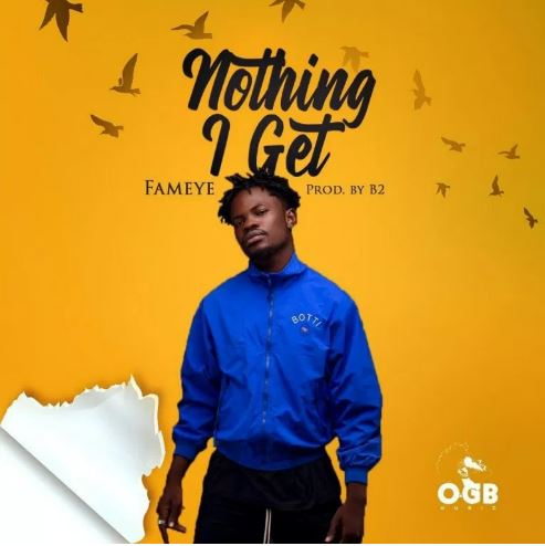 Download Instrumental: Fameye – Nothing I Get (Prod By Kraxy Beatz)