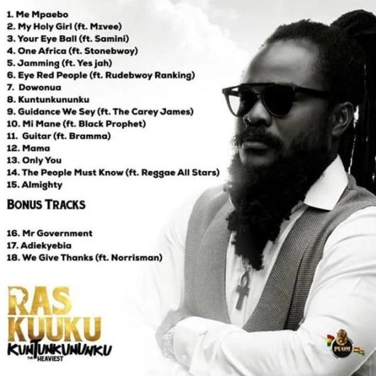 Ras Kuuku – Eye Red People Ft Rudebwoy Ranking mp3 download