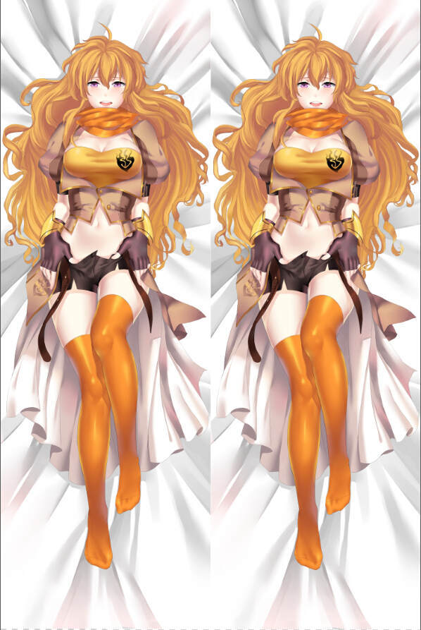 Cute Yang Xiao Long Wallpaper 26 99 For Rwby Anime Dakimakura Pillow Cover