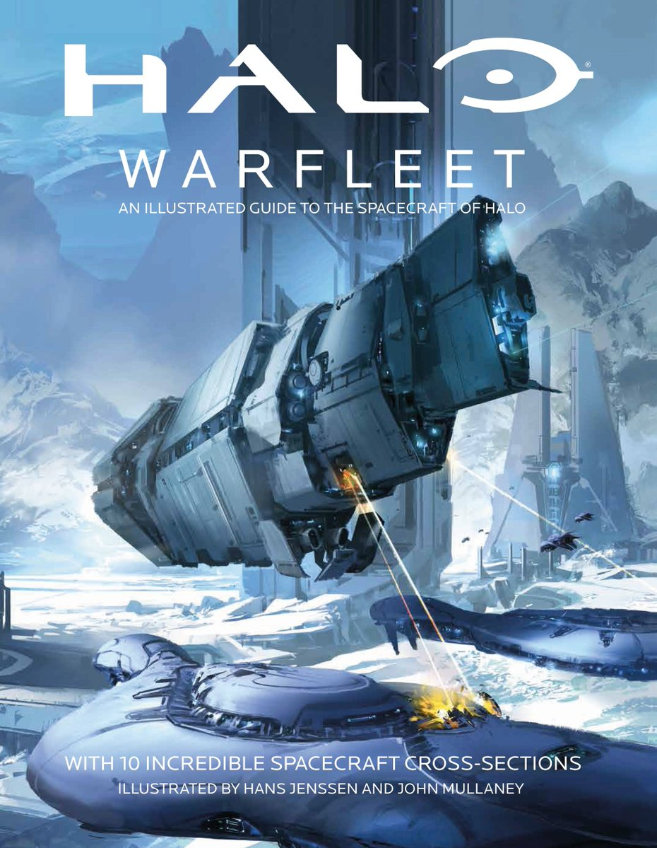 Fall Wallpaper Drawing Halo Warfleet An Illustrated Guide To The Spacecraft Of