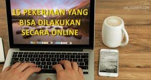 Pekerjaan Yang Bisa Dilakukan Secara Online