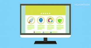 Template untuk Web Hosting E-Commerce