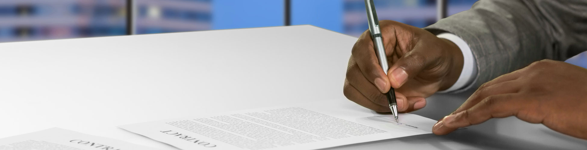 Commercial Transactions & Contract Law Services