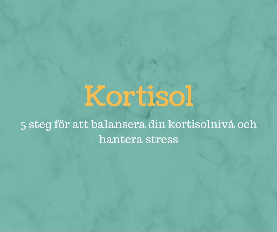 symtom på kortisolbrist