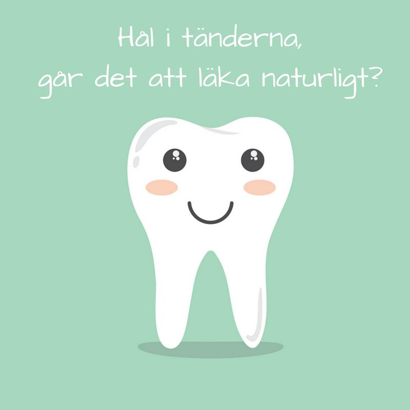 0cd0adfb759 Hål i tänderna, går det att läka naturligt? | Hälsa som livsstil