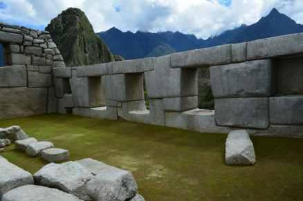 3 fönstergluggar. 3 är ett heligt tal för inkafolket