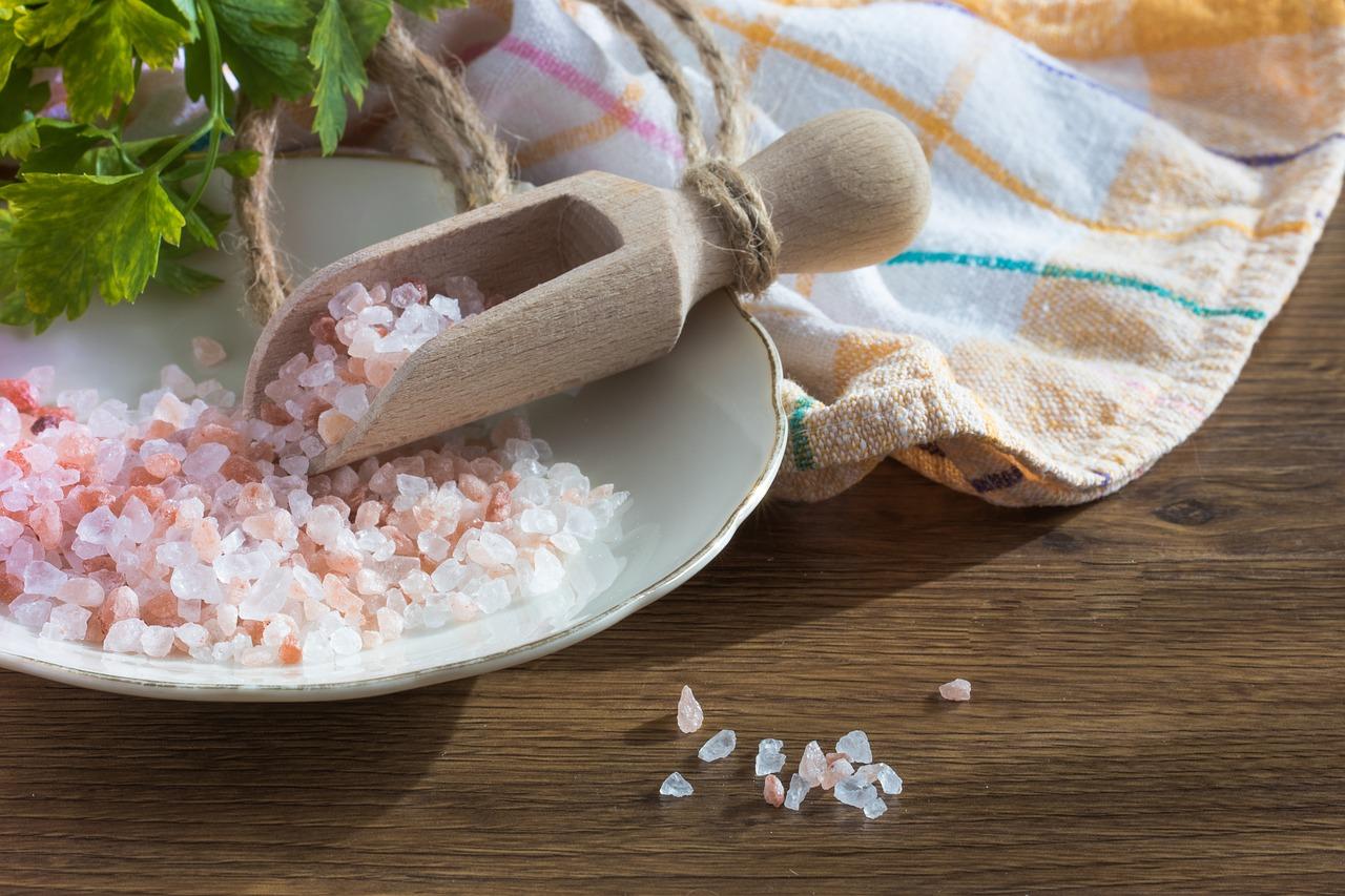 olika sorters salt