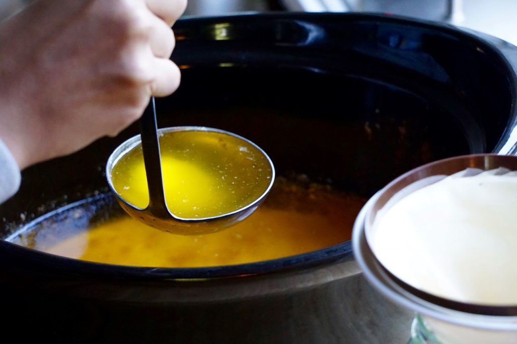 klarifierat smör ghee