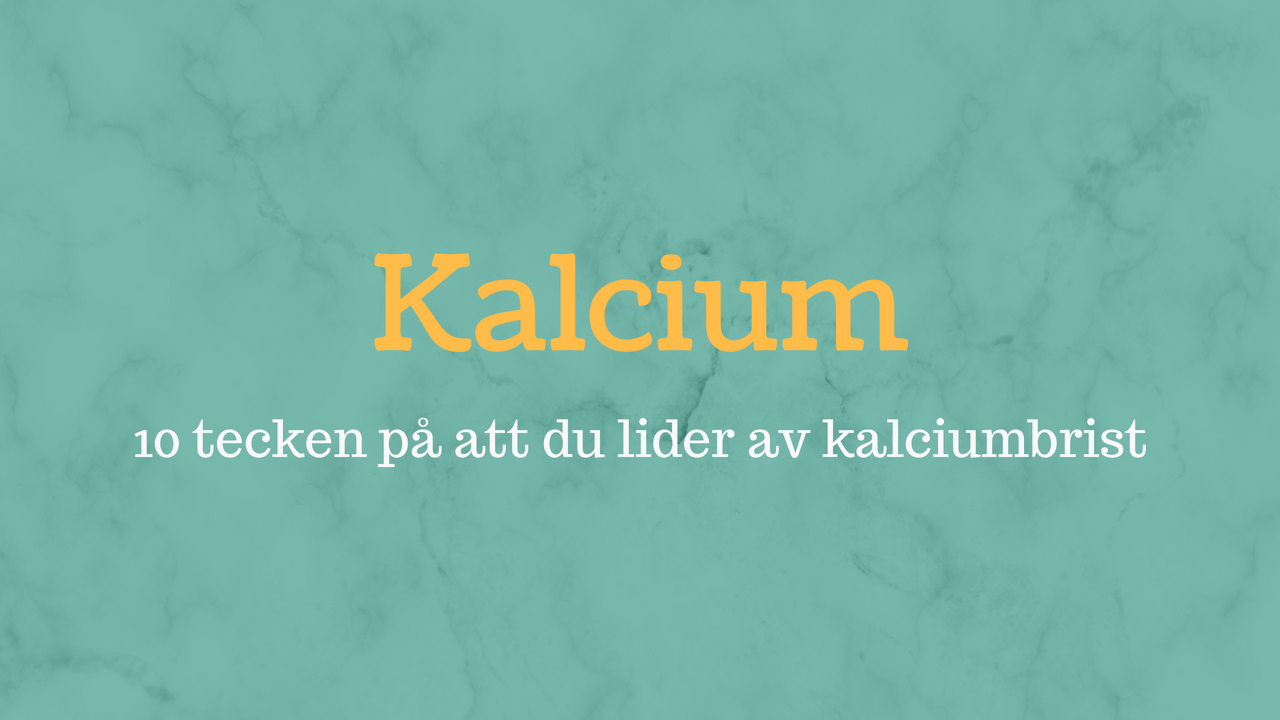 för mycket kalcium symtom
