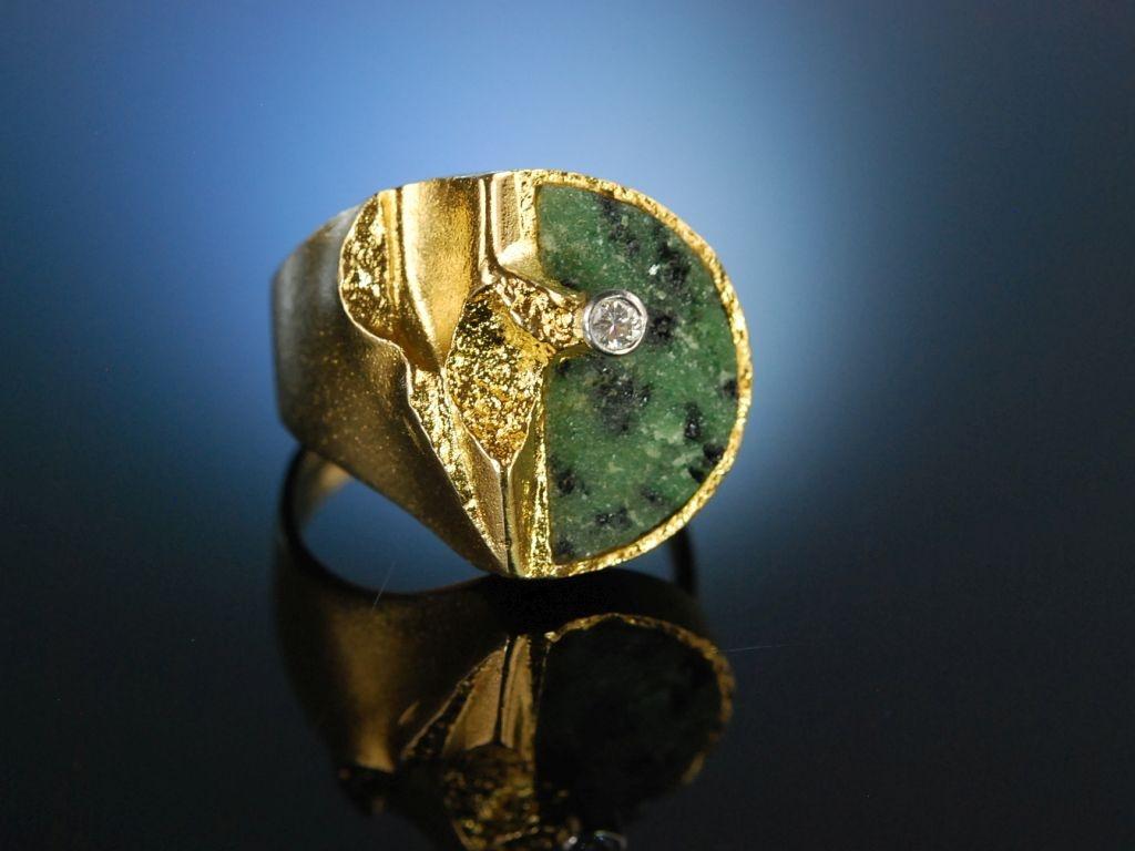 Ring Lapponia Bjrn Weckstrm Quebec Gold 750 Diamant Zoisi