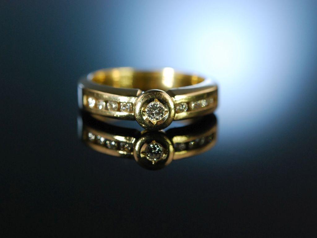 You are my Diamond Brillant Verlobungs Ring Gold 585