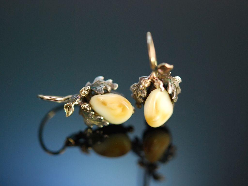 Zu Jagd und Tracht Grandl Ohrringe Silber Gold 585 Graz
