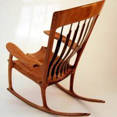 Sam Maloof Rocking Chair Plans Hal Taylor Folding Decathlon Chairs By This Curly Maple Resides In Balmoral Castle Scotland The Summer Abode Of Hrh Prince Charles