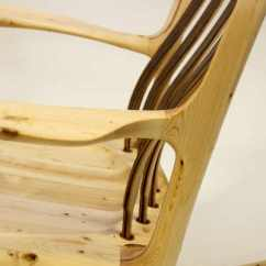 Sam Maloof Rocking Chair Plans Hal Taylor Blue Velvet Nz Chairs By This Was Made From Lowes 2x4s