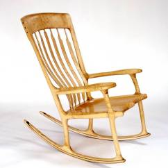 Sam Maloof Rocking Chair Plans Hal Taylor Revolving Manufacturers In Bangalore Chairs By English Walnut