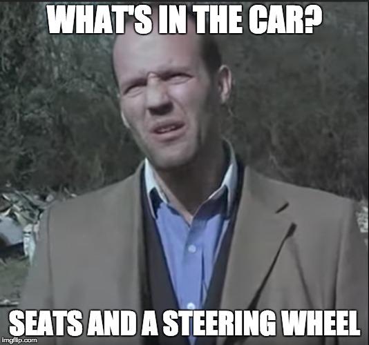 Jason Statham on cars