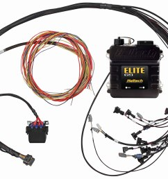 includes haltech elite 950 ecu terminated engine harness three circuit fuse block  [ 1500 x 1116 Pixel ]