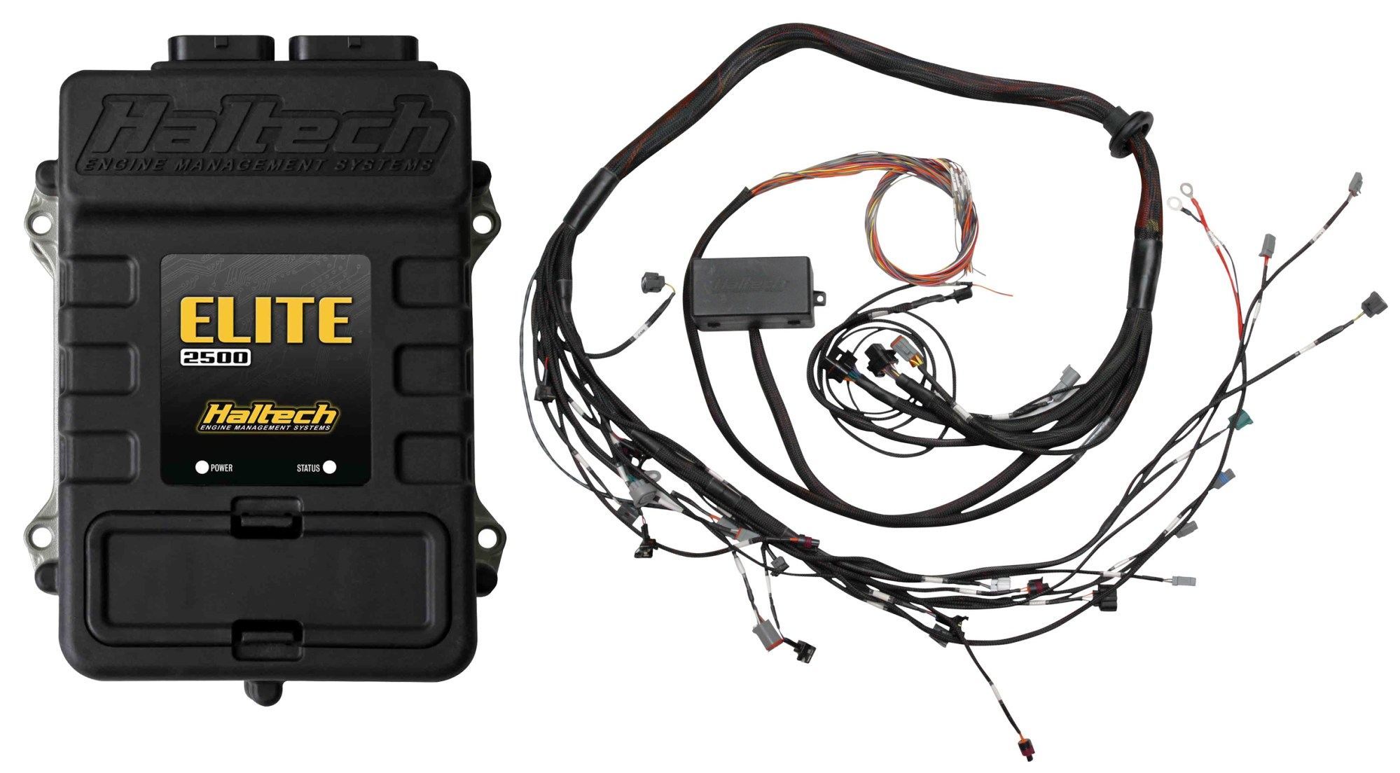 hight resolution of elite 2500 toyota 2jz terminated harness ecu kit dual power output 115mj 150mj power select 6 cdi