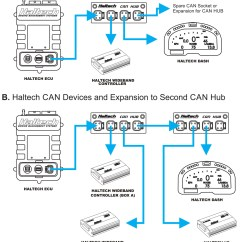 Haltech Iq3 Wiring Diagram Dental Numbering Of Teeth Engine Management Systems New Product Archives Name Elite Can Hub 4 Port Dtm4 Number Ht 15900 Includes 1 X Cable 12 300mm To