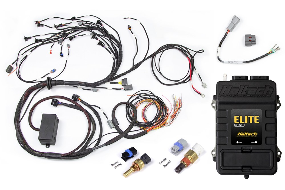 medium resolution of haltech terminated engine harness kit for nissan rb20 rb25 rb26