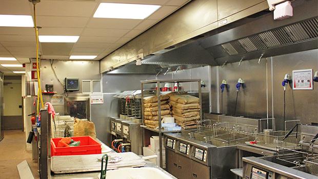 kfc restaurant kitchen in amsterdam