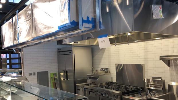 food hall ventilation solution