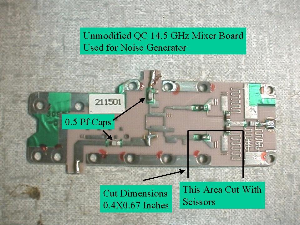 White Noise Generator Schematic
