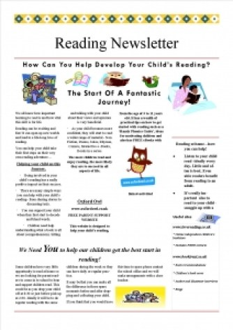 reading newsletter 2015