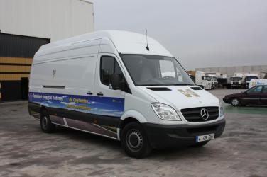 Vehículo HAM a GNC, Mercedes Sprinter