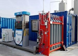 HAM diseña y monta estación dispensadora de biometano