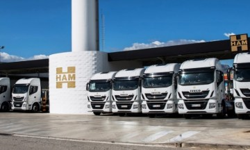 Transportes HAM incorpora 25 camiones IVECO Stralis NP a su flota