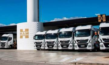 HAM ha incorporado nuevos camiones GNL a su flota