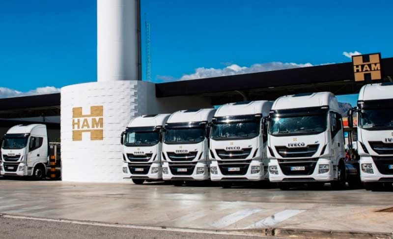Grupo HAM ha incorporado nuevas tractoras impulsadas por gas natural licuada, combustible que respeta el medioambiente