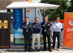HAM ha inaugurado estación de servicio GNC en Cornellà