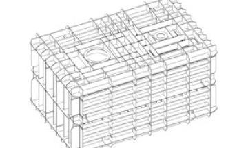 Construcción del primer tanque de membrana de pequeña escala GNL