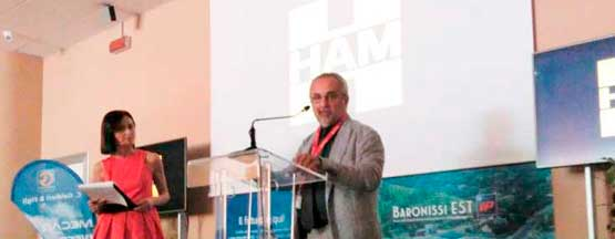 Opening ceremony of the liquefied natural gas station of HAM Italia, the first located in Campania
