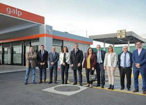 HAM has inaugurated a Gas station inside the Port of Barcelona