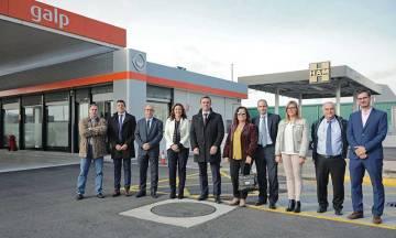 Grupo HAM ha inaugurado la primera estación de gas natural licuado y comprimido del Puerto de Barcelona