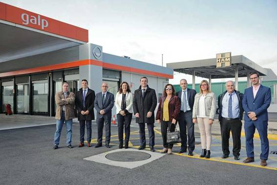 HAM Group inaugurates in the Port of Barcelona the first gas station of the state port system that supplies Liquefied Natural Gas (LNG) and Compressed (CNG)